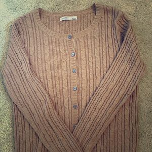 Old Navy Cable Knit Cardigan Size: M